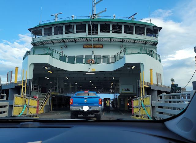 Going in to ride The Kennewick Ferry