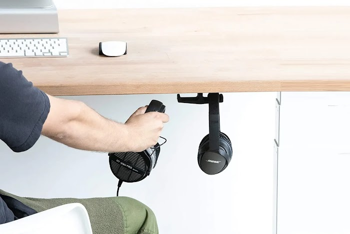 Under-Desk Headphone Stand Mount review