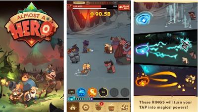 لعبة Almost A Hero مهكرة للأندرويد - تحميل مباشر