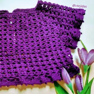 Blusa de Bebé a Crochet