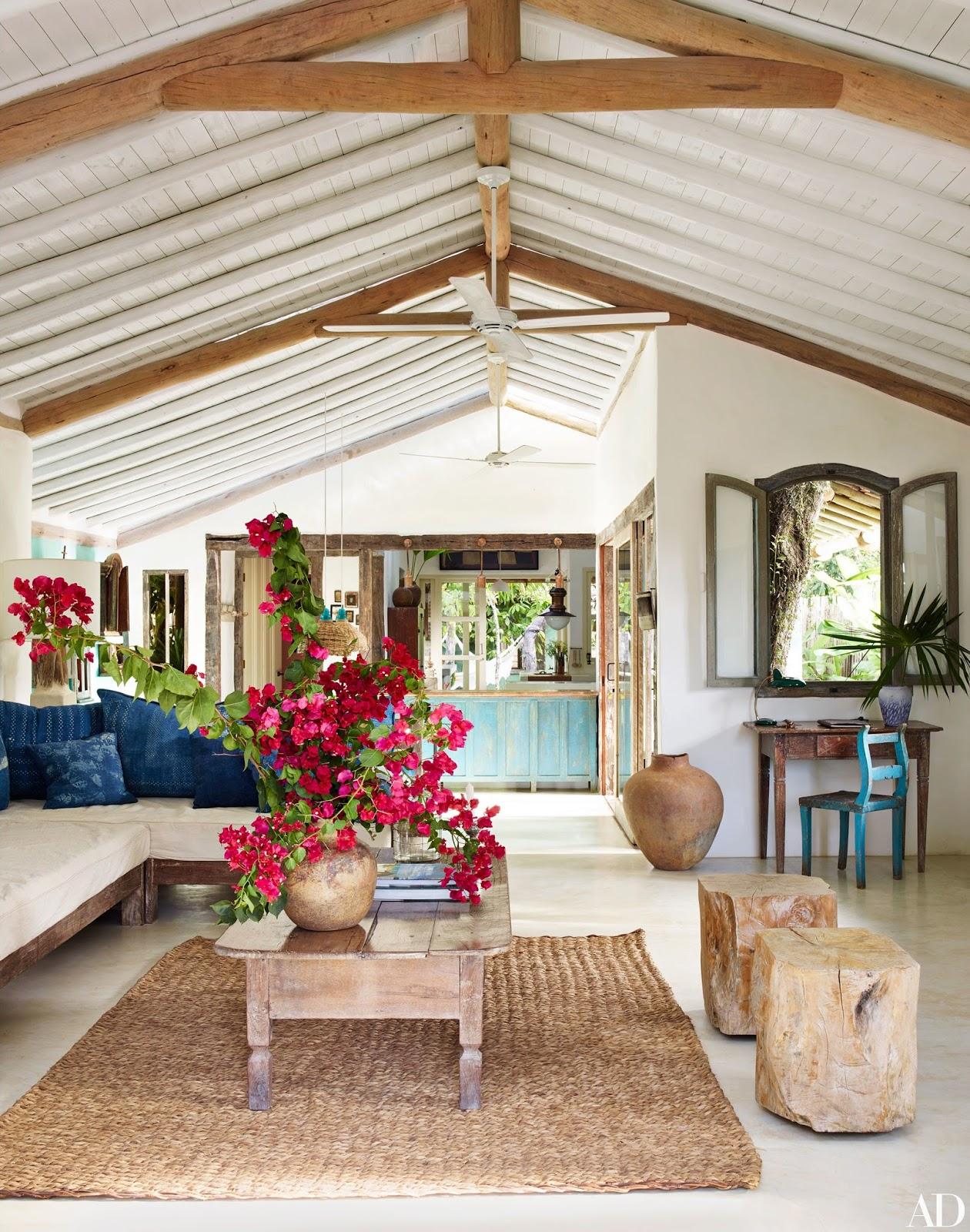 home garden une maison de vacances au br sil. Black Bedroom Furniture Sets. Home Design Ideas