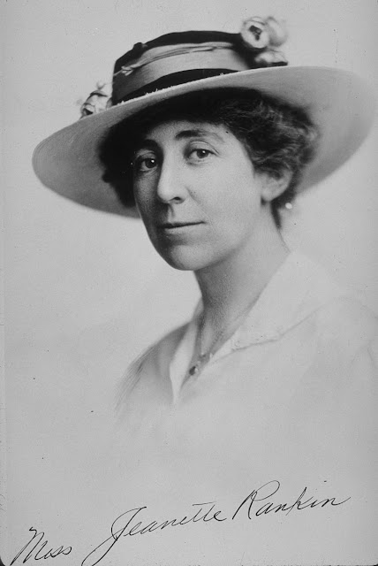 Women In History Jeannette Rankin