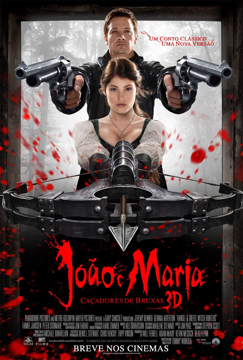 Hansel and Gretel: Witch Hunters (2013) ταινιες online seires oipeirates greek subs