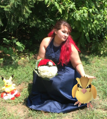 Pokeball wedding bouquet by Stein Your Florist Co. - Pokemon Go