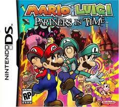 Mario y Lugi Partners In Time, NDS, Español, Mega