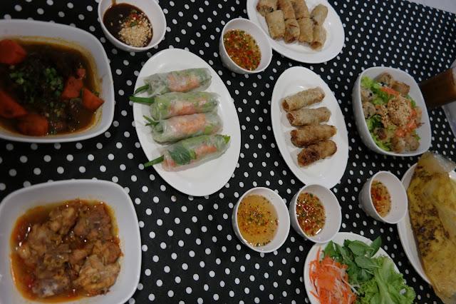 best vietnamese food in kuala lumpur, cheap vietnamese food in kuala lumpur, vinh city at sungei wang plaza,