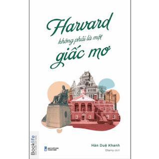 Harvard Không Phải Một Giấc Mơ ebook PDF EPUB AWZ3 PRC MOBI