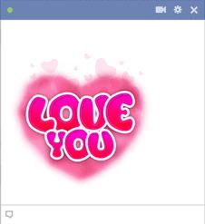 Love You Emoji Icon