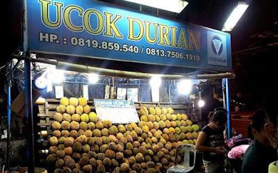 Wisata Durian di Kedai Ucok