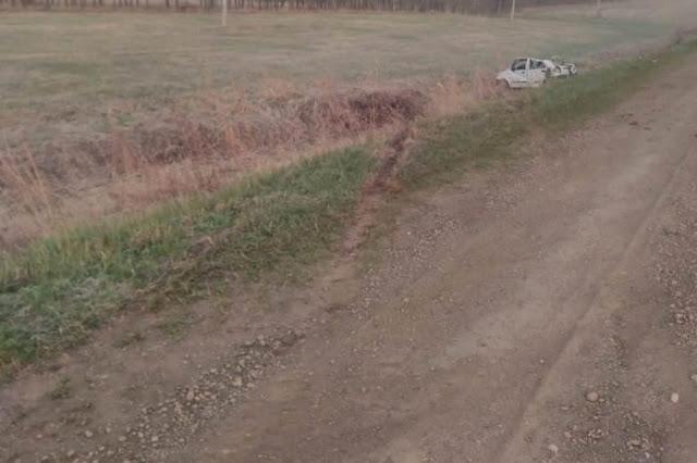 В Башкирии произошло ДТП: «Daewoo Matiz» вылетел в кювет