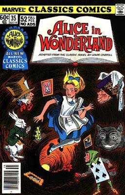 Alice in Wonderland, Marvel Classics Comics #35
