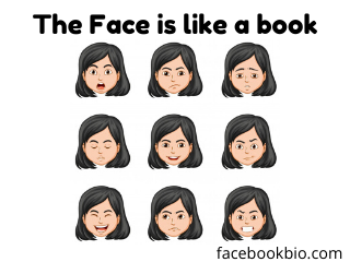 The Face is like a book | Humans faces bio | facebook bio