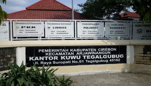 Sejarah Desa Tegalgubung Kecamatan Arjawinagun Kabupaten Cirebon