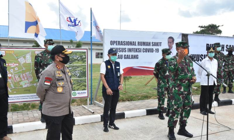 Resmi, RS Darurat Covid-19 Galang Ex Camp Vietnam Beroperasi