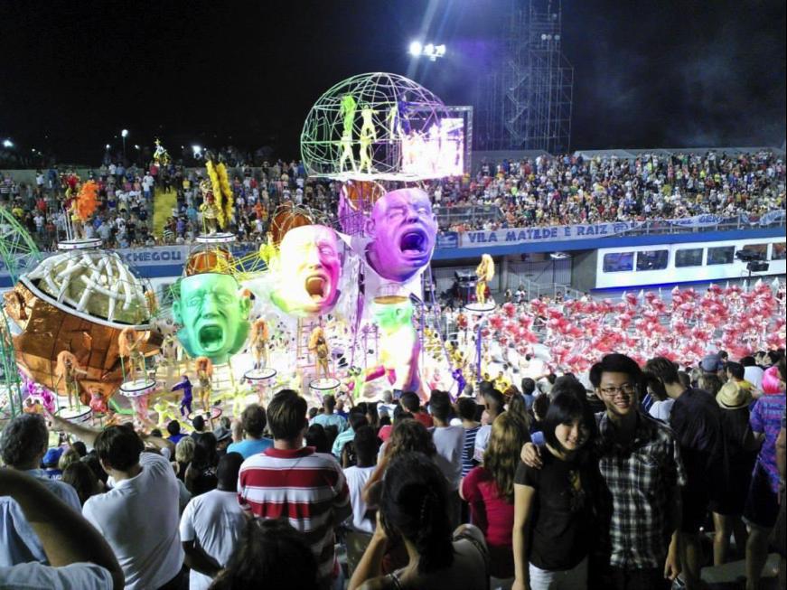 Samba Carnival at Sao Paulo