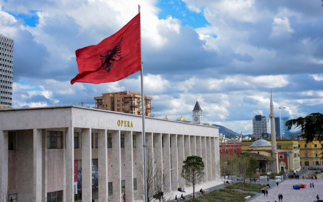 How could Albania benefits from the US-Iran clash and the geopolitical tensions in the Eastern Mediterranean