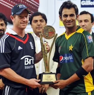Pakistan - England tour of UAE 2-Match T20I Series 2010