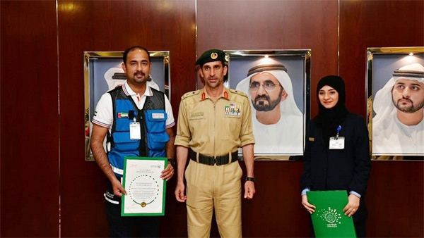 Dubai cop promoted for helping deliver baby at airport, Dubai, News, Gulf, World, Hospital, Treatment, Ambulance, Pregnant Woman, Police, Malayalees
