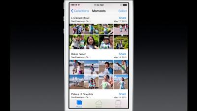 iOS 7 photo app