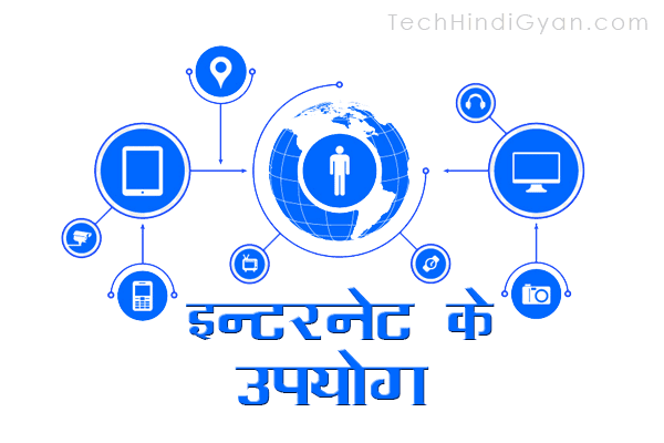 इन्टरनेट के उपयोग, महत्व और लाभ | Uses, Importance, Advantages And Disadvantages of Internet