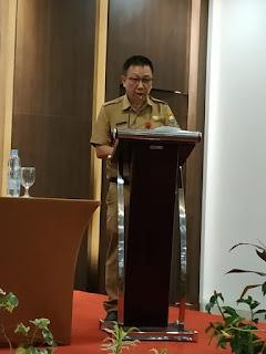 Kadinkes Provinsi Jambi Membuka Secara Resmi Pisah Sambut PIDI Angkatan 1 2019 Dan Angkatan 1 2020.
