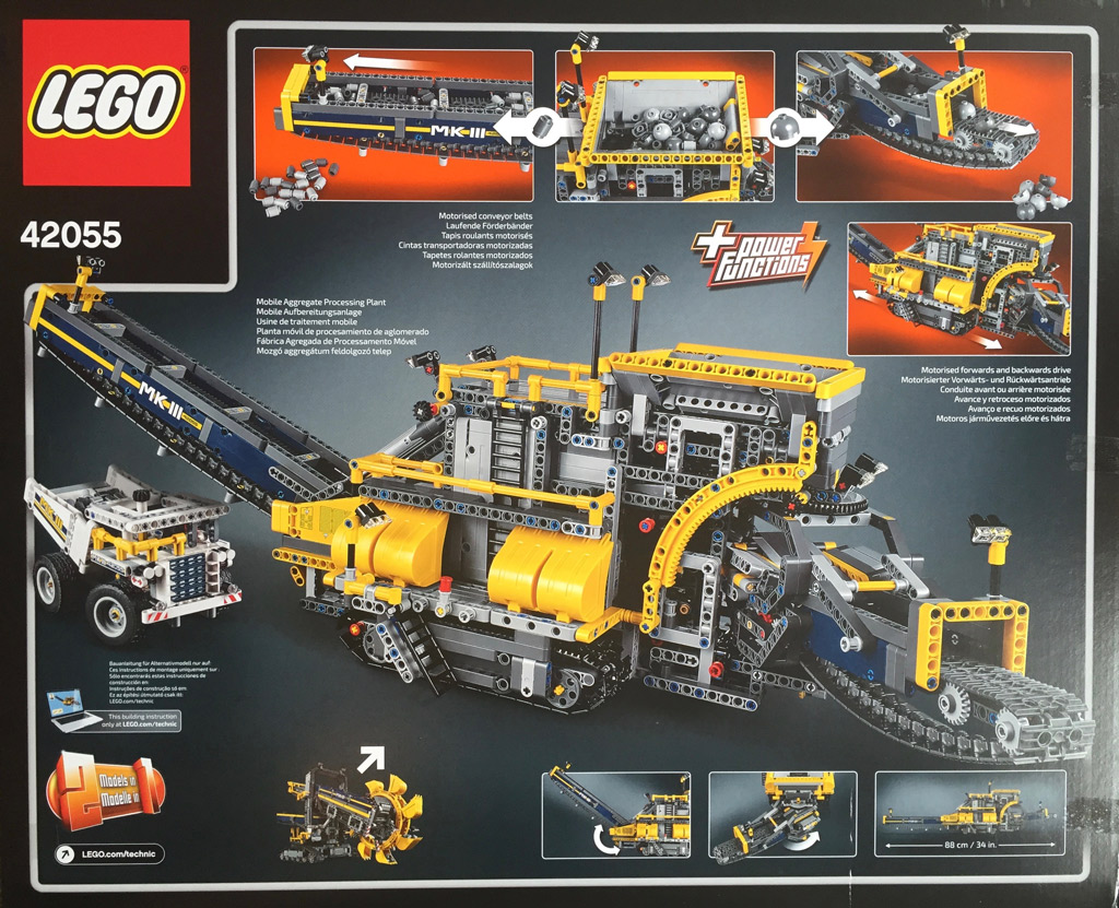 270 Parts NEW Lego Technic Bright Yellow Studless Beams and Liftarms