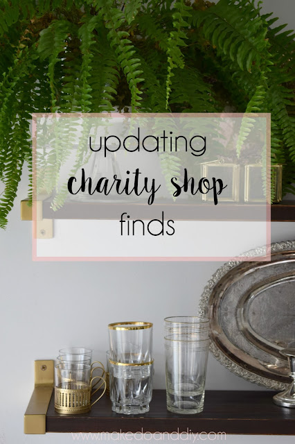 updating charity/thrift shop finds