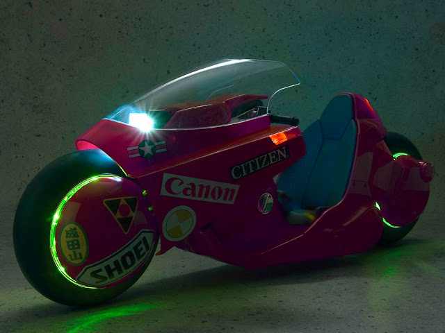 Tamashii Nations anuncia la PROJECT BM! Popinica Soul Kaneda's Bike <Revival Version> de AKIRA