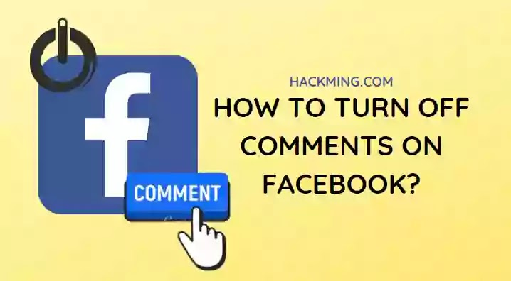 How To Turn Off Comments On Facebook