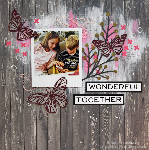Scrapbooking Layout: Wonderful together