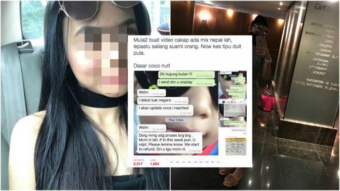 Lepas Kes Sailang Laki Orang, Gadis Viral Pelat Ala 'Mat Saleh' Buat Hal Lagi?