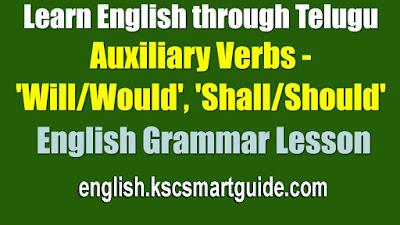 Auxiliary Verbs-English grammar