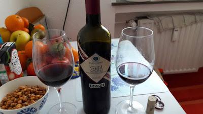 Vino griego Nemea tinto Cavino