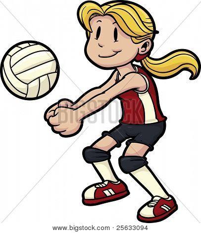 Es saque voleibol que