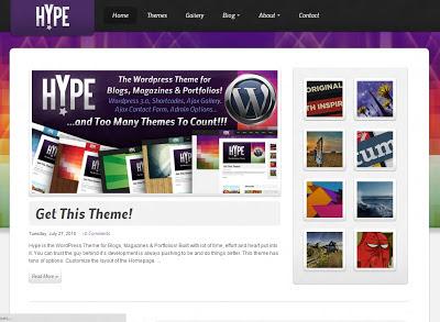 Hype Wordpress Theme
