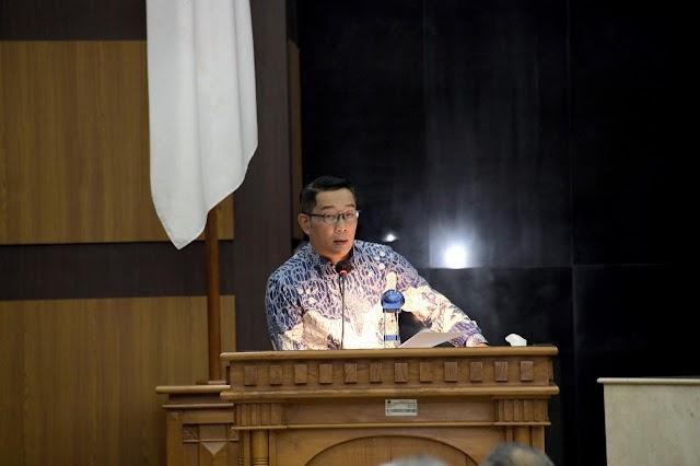 Prioritas Tangani  Covid-19, Ridwan Kamil Sampaikan KUPA-PPAS Perubahan APBD 2020 Kepada DPRD Jabar