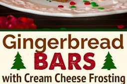 Gingerbread Bars with Cream Cheese Frosting