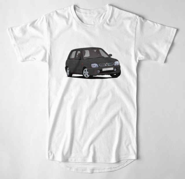 Nissan Micra / Nissan March - automotive T-shirt
