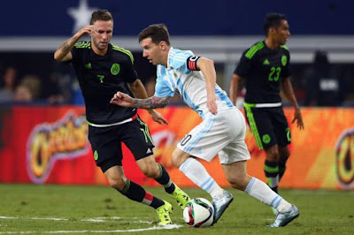 mexico vs argentina messi