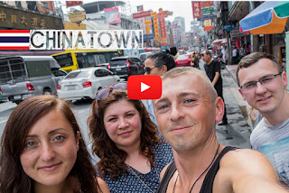 Chinatown Bangkok THAILAND. trying the Street food in Chinatown, Bangkok on World travel.
