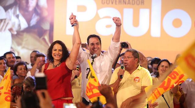 Luciana Santos deverá assumir o governo, com provável candidatura de Paulo em 2022