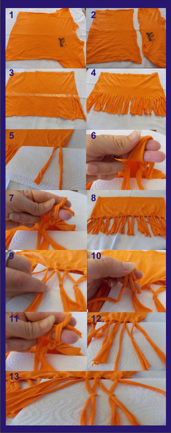 Paso a paso como hacer nuestra bufanda