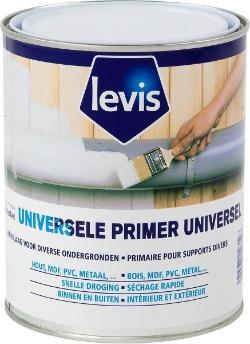 Levis universele primer. Grondverf voor hout, metaal en kunststof