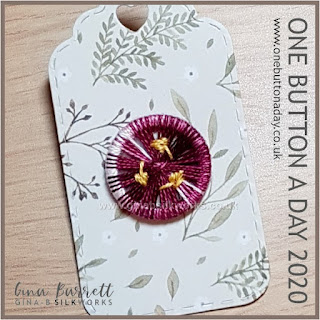 Day 269 : Autumn - One Button a Day 2020 by Gina Barrett