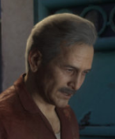 Victor Sullivan (Sully) [Nath Friend] in Uncharted 4