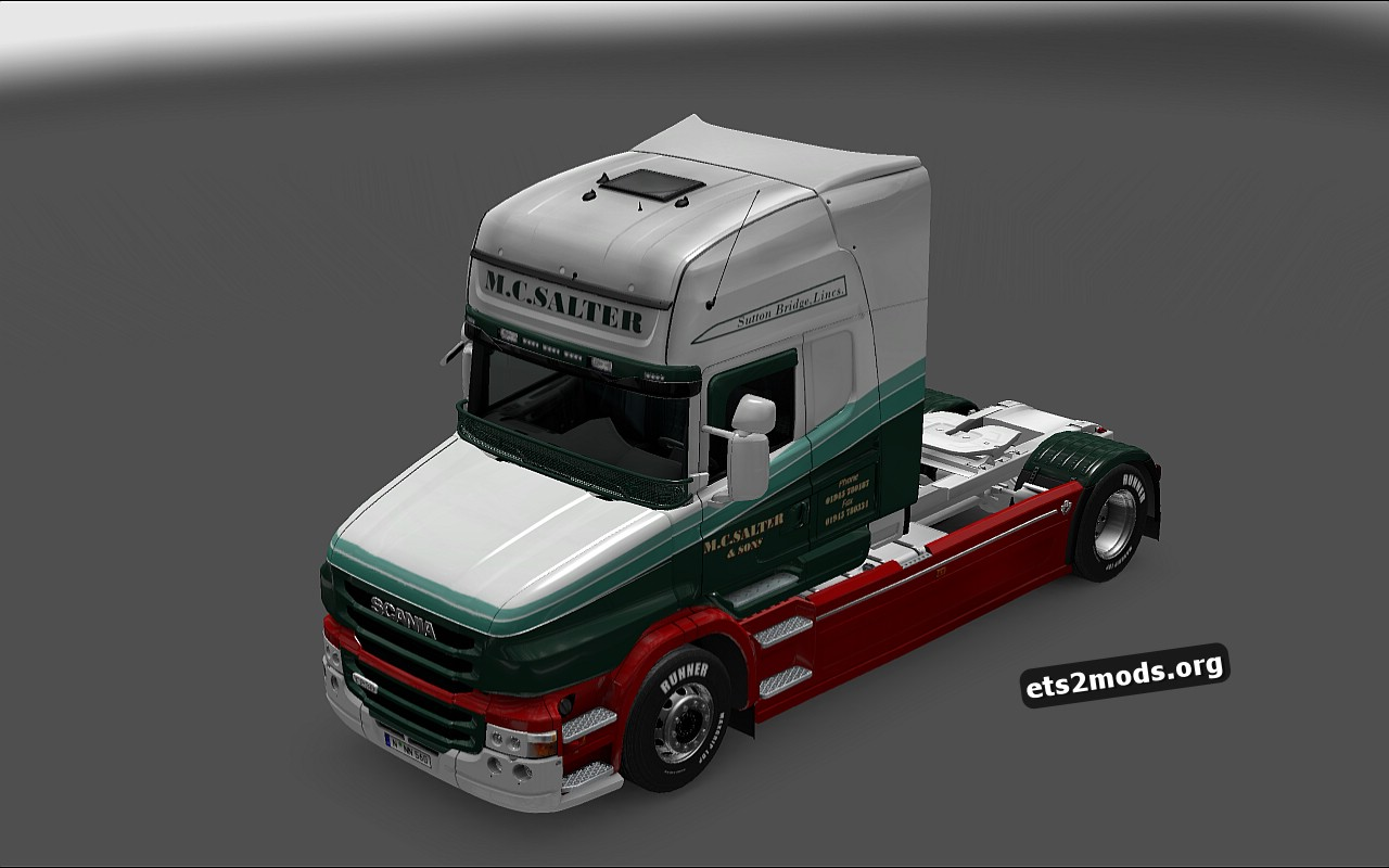 M.C.Salter & Sons for Scania T