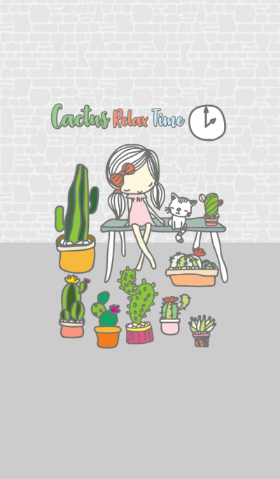 Cactus Relax Time