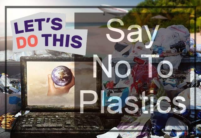 stop using plastics