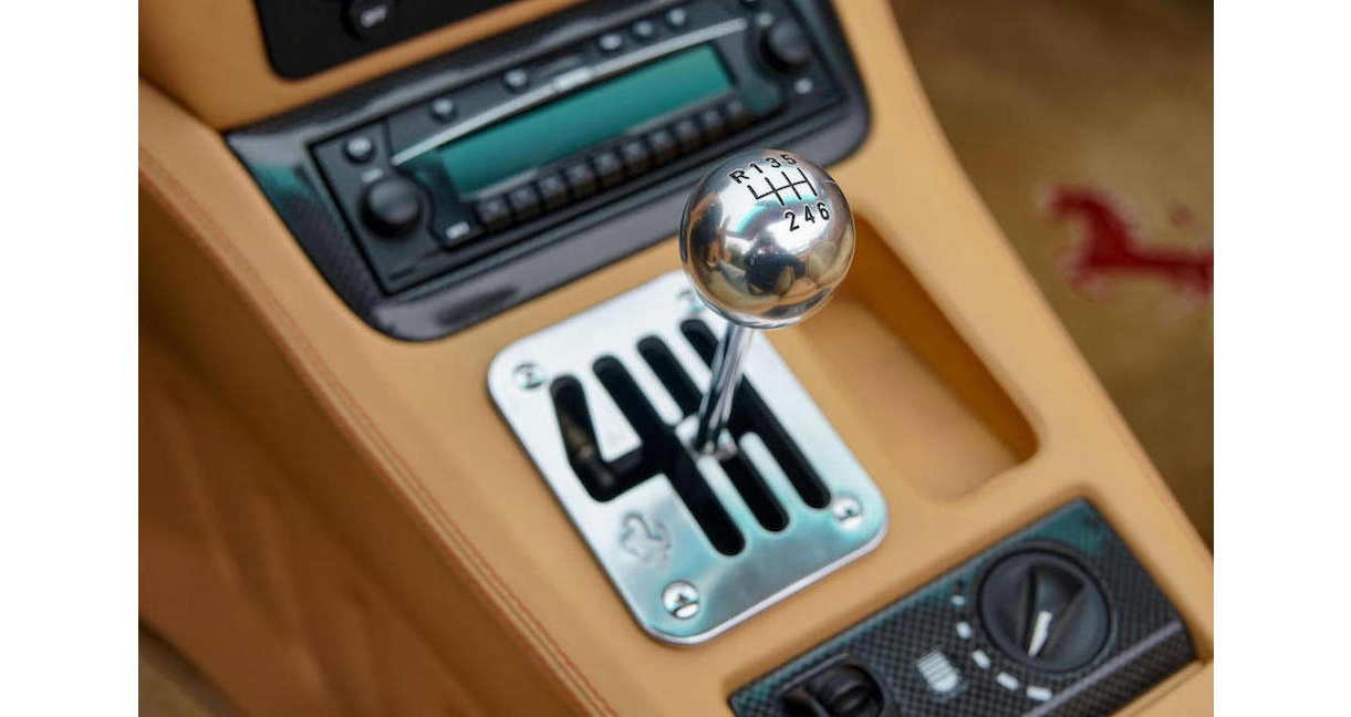 Hộp số sàn huyền thoại được trang bị trên Ferrari 575M Superamerica
