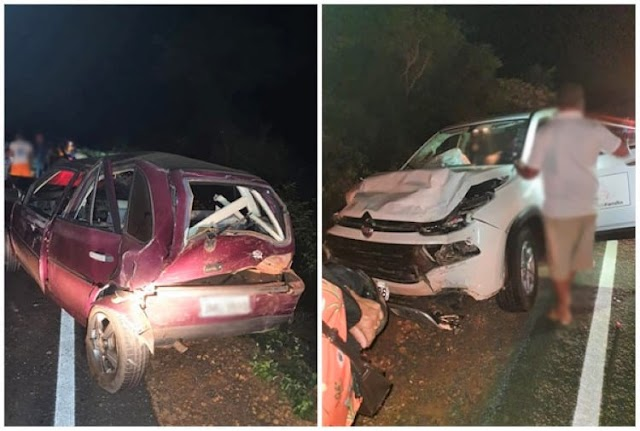 Carro da prefeitura de Abaíra se envolve em acidente em Boninal